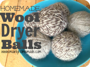 How to Make Homemade Wool Dryer Balls