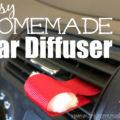 Easy homemade car diffuser