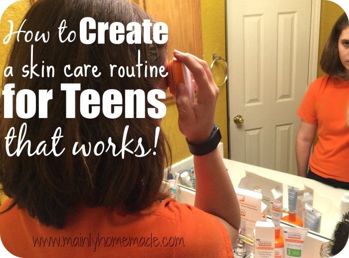 Skin care for teen your place