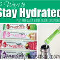Easy Ways to stay hydrated