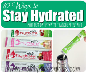 10 Easy Ways to Stay Hydrated On the Go