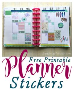 The Mommy Club – Planners, Stickers and Printables Oh My