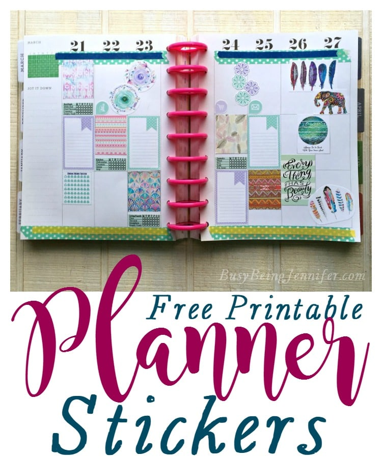 The Mommy Club - Planners, Stickers and Printables Oh My | Mainly ...