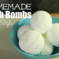 Homemade Bath Bombs Lush Style