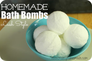 Therapeutic Homemade Bath Bombs – Lush Style
