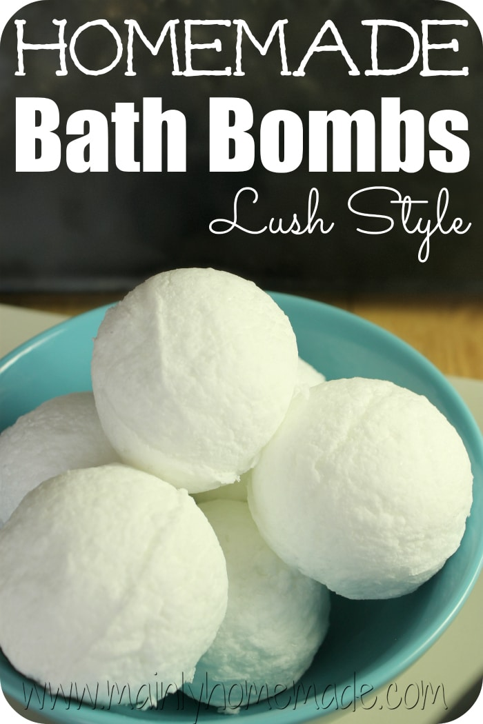 lush bath bomb instructions