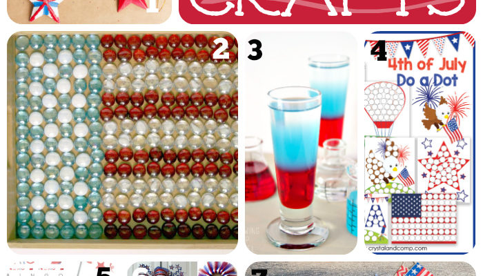 7 DIY Patriotic Crafts {The Mommy Club Linky Party}