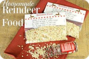 Homemade Reindeer Food Recipe And FREE Printable
