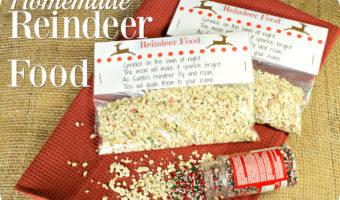 Homemade Reindeer Food Recipe And FREE Printable