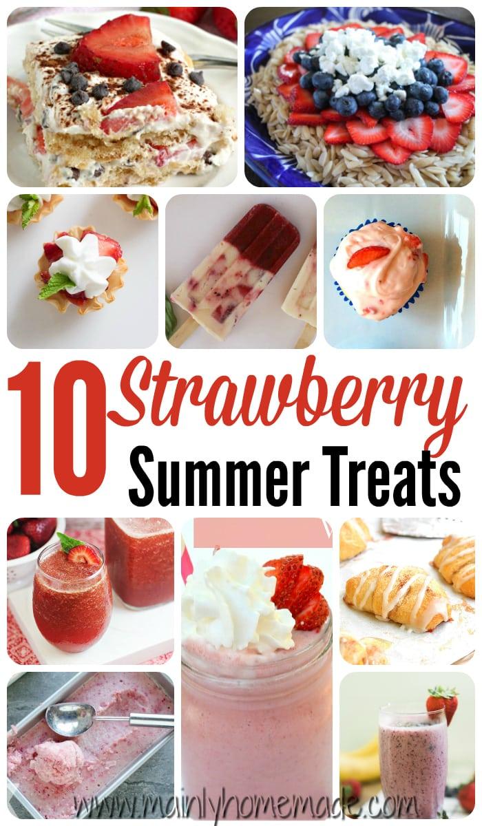 10 Strawberry Summer Recipes