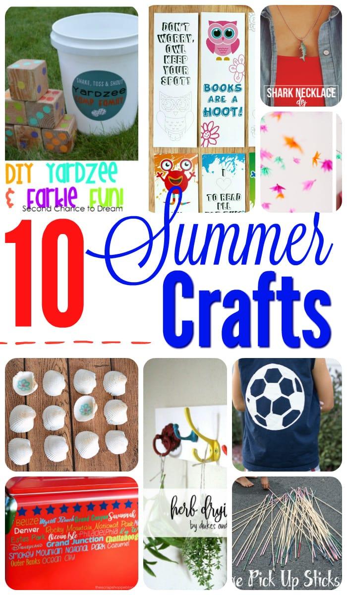 10 Summer Crafts to make