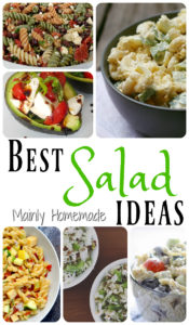 Best Salad Dinner Ideas {Mommy Club Linky}