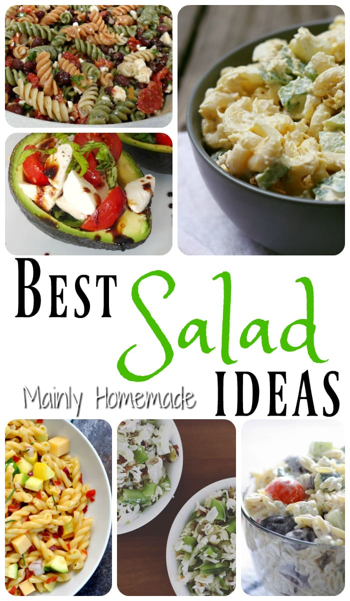 Best salad dinner ideas mommy club linky mainly homemade for Best dinner party ideas