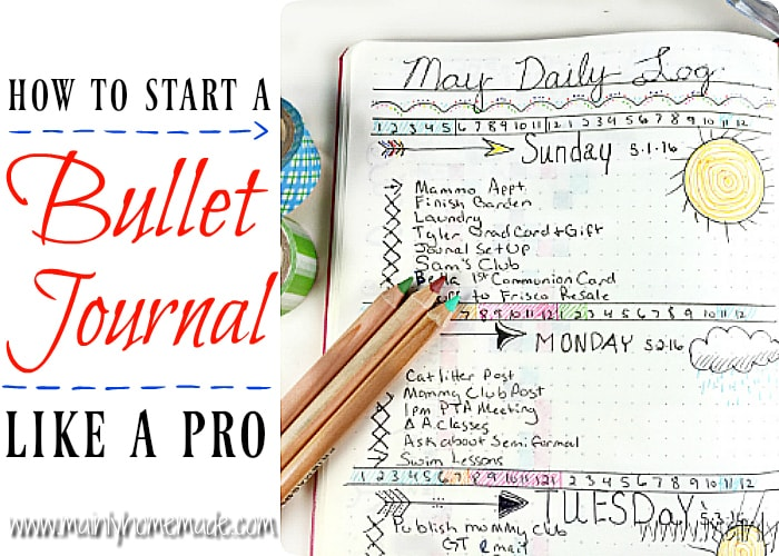 Bullet journal like a pro