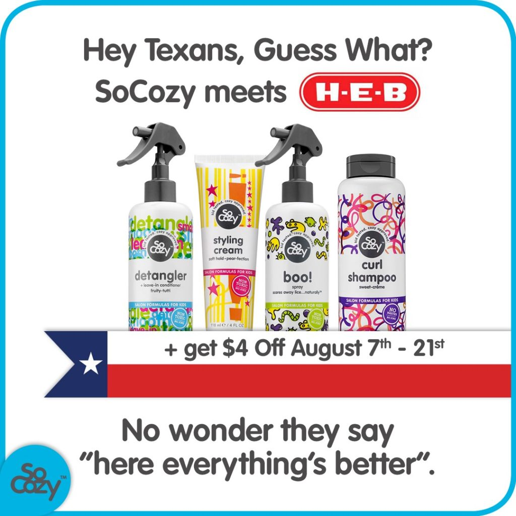 SoCozy Hair Care Products