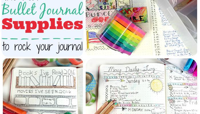 Best Bullet Journal Supplies To Rock Your Journal