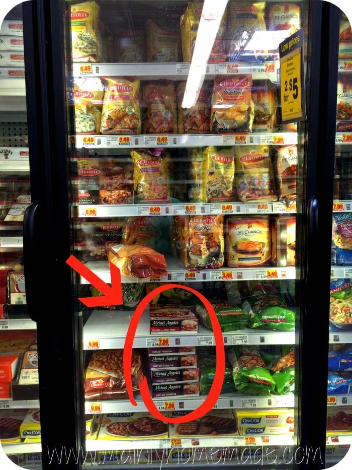 Michael Angelos in frozen food asile