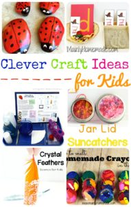 Clever Craft Ideas for Kids! – The Mommy Club