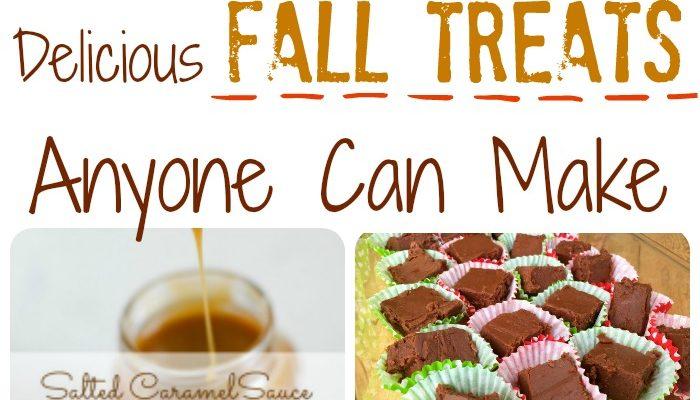 Delicious Fall Treats Anyone Can Make