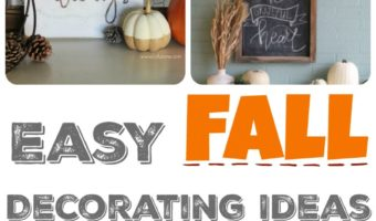 Simple Fall Decorating Ideas – The Mommy Club
