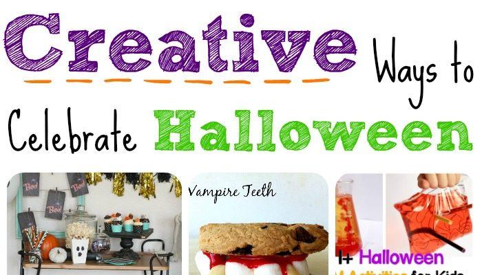 Creative Ways to Celebrate Halloween – The Mommy Club