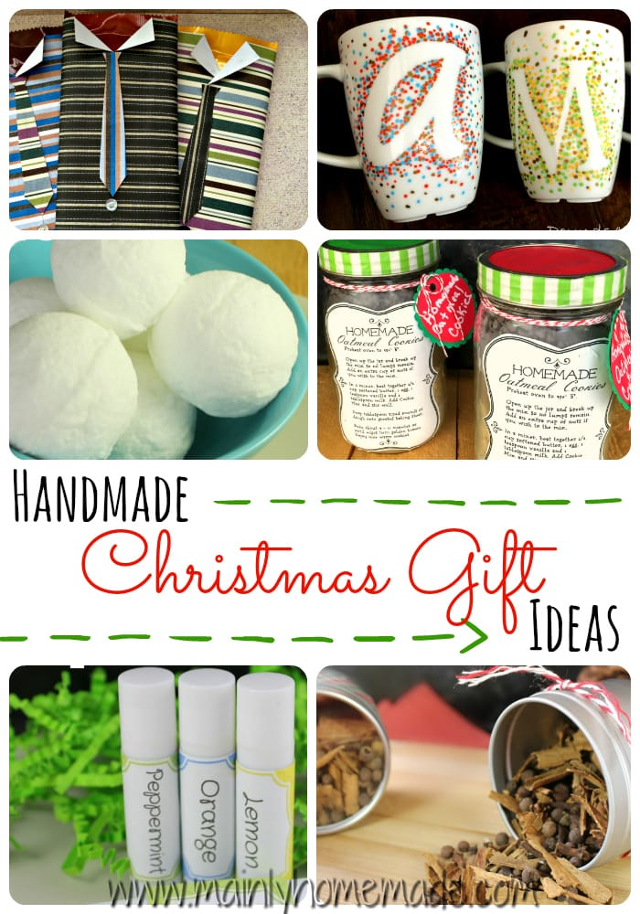 20 easy homemade christmas gifts anyone would love for What to make for christmas presents