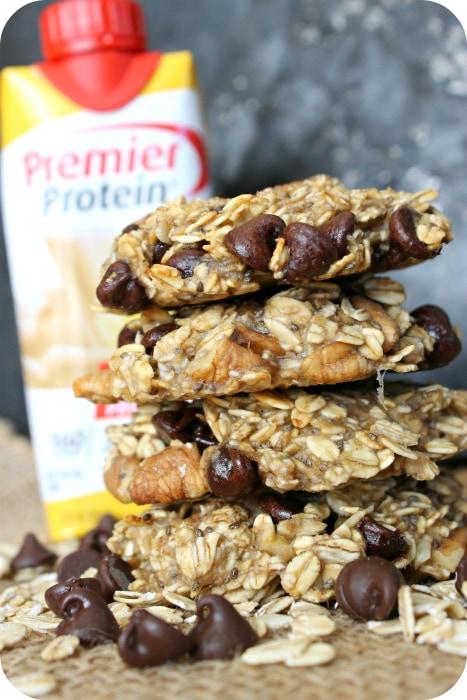 high protein breakfast cookies