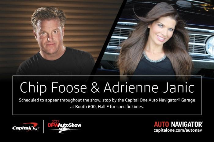Chip Foose DFW Auto Show