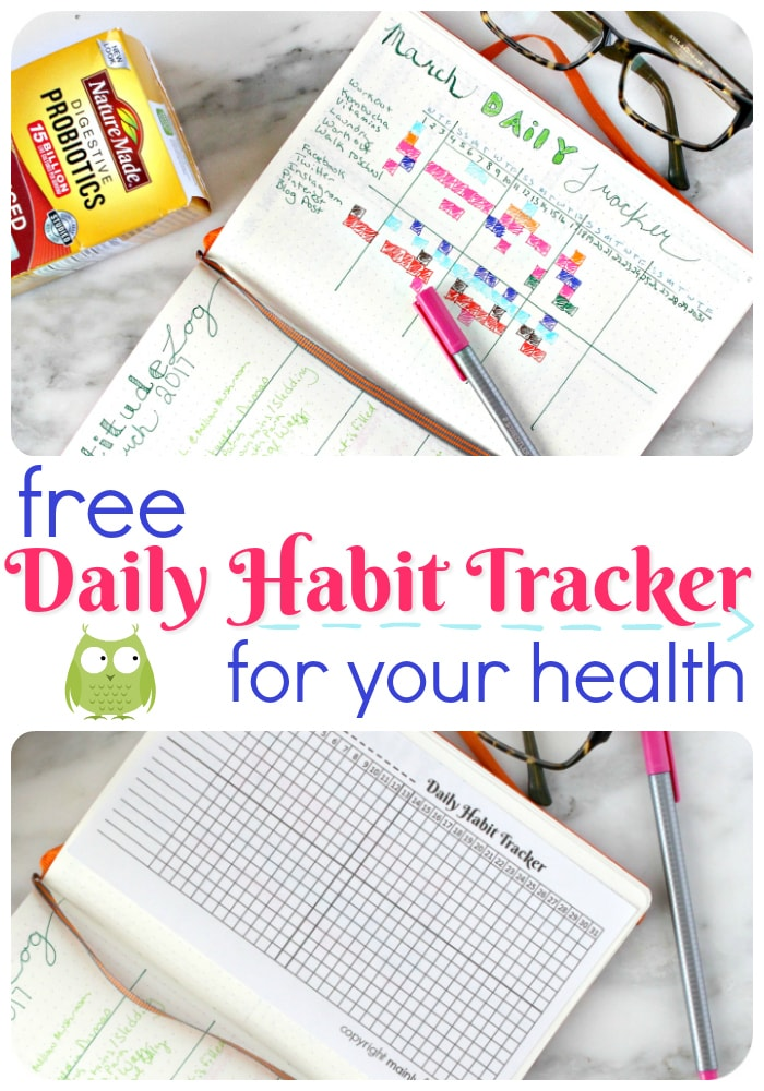 Daily Habit Tracker for your health