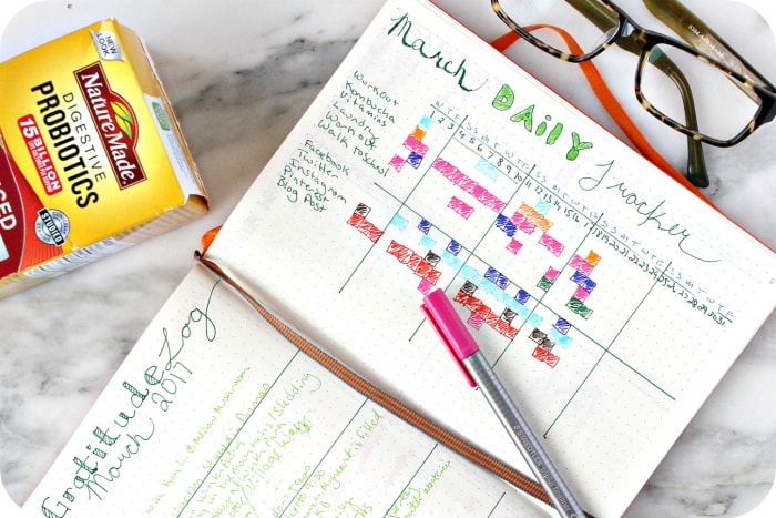Daily Habit Tracker with Probiotics