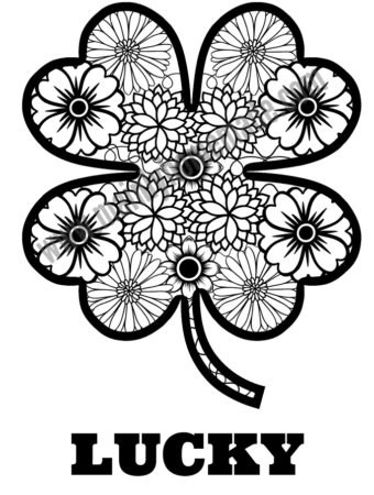 Fun St. Patrick's Day Coloring Page Printable