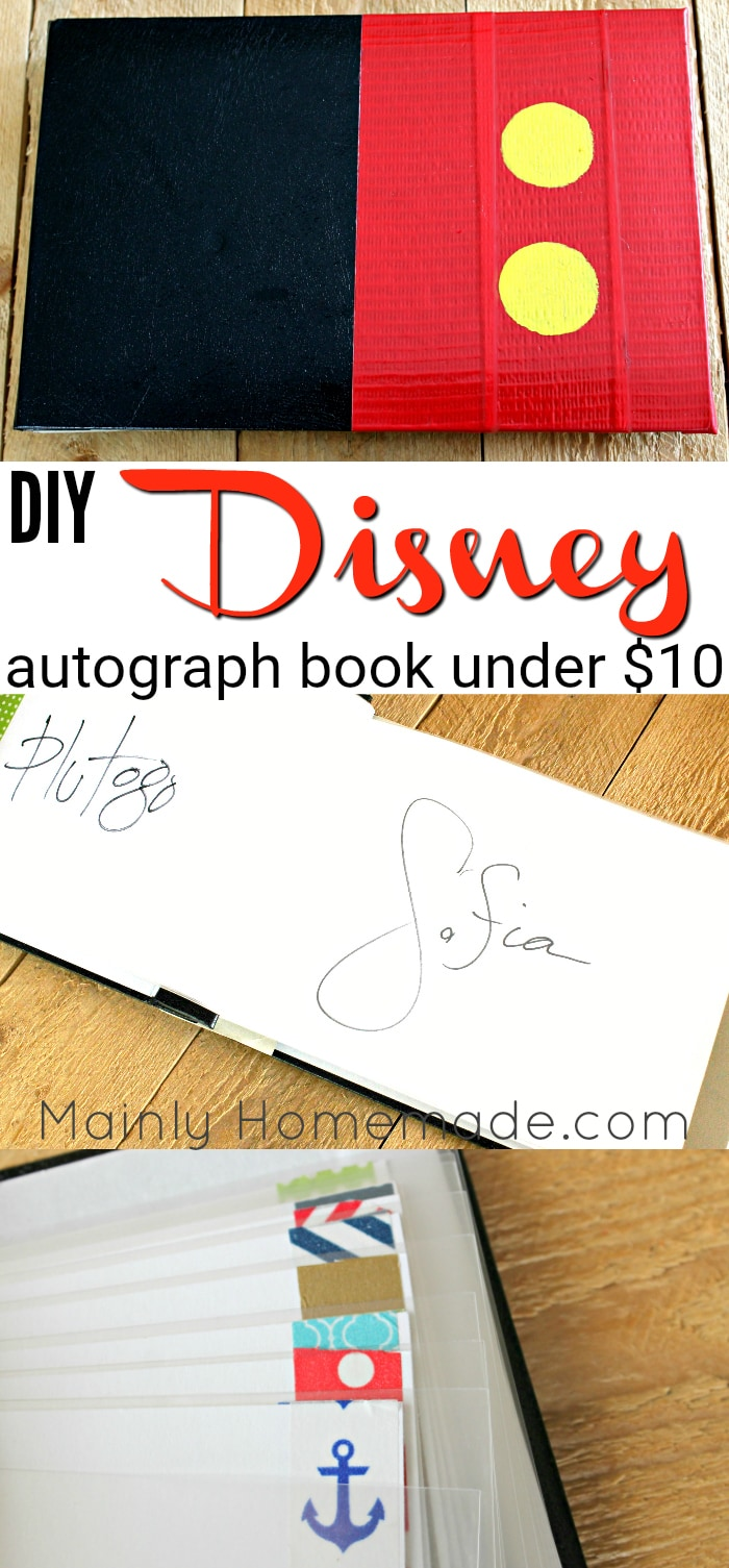 how to make autograph book