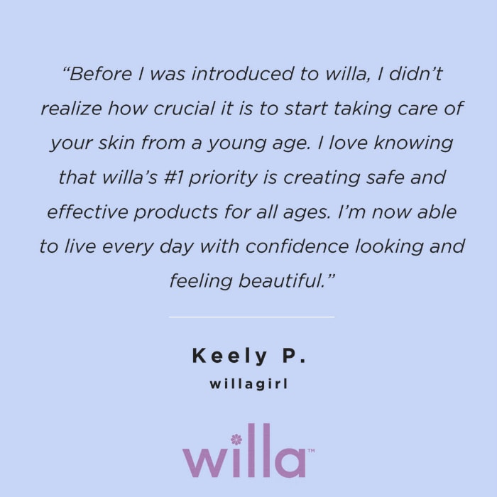 Keelys quote For Willa Beauty
